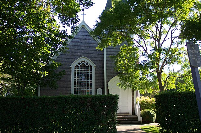 Exterior of the 'Sconset Chapel.
